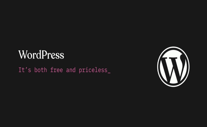 WordPress 5.0: Free & Priceless